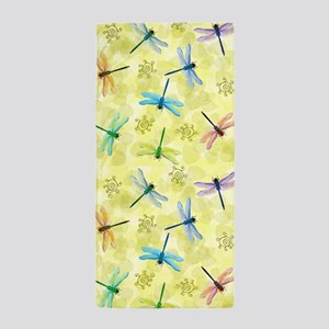 Dragonflies Beach Towel