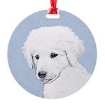Kuvasz Round Ornament