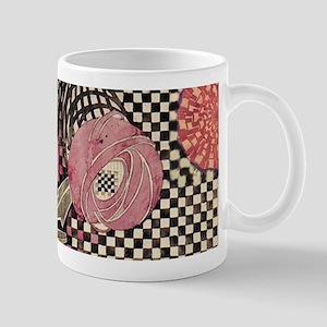 Mackintosh Rose Abstract Mugs
