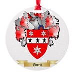 Everit Round Ornament