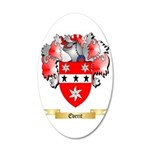 Everit 35x21 Oval Wall Decal