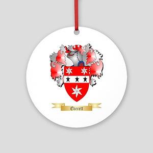 Everett Ornament (Round)
