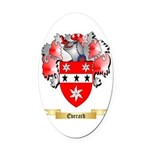 Everard Oval Car Magnet