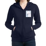 Kuvasz Women's Zip Hoodie