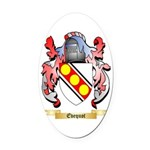 Evequot Oval Car Magnet