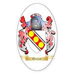 Eveque Sticker (Oval 10 pk)