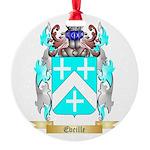 Eveille Round Ornament