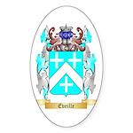 Eveille Sticker (Oval 10 pk)