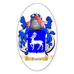 Eustace Sticker (Oval 50 pk)