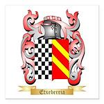 Etxeberria Square Car Magnet 3