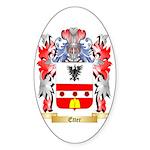 Etter Sticker (Oval 10 pk)