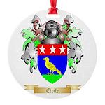 Etoile Round Ornament