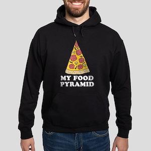 Pizza Food Pyramid Hoodie