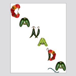 Canada Peppers Small Poster