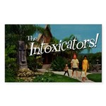 Intoxicators Tiki Sticker