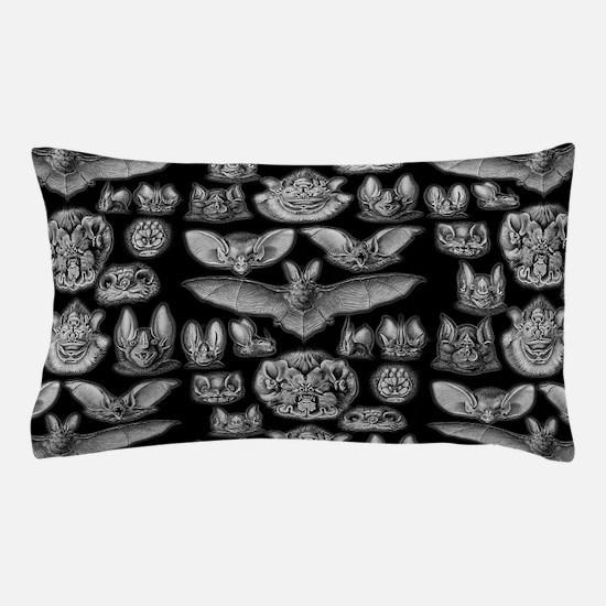 Vintage Bat Illustrations Pillow Case