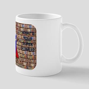 library super hero Mugs