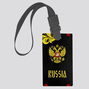 Russia Large Luggage Tag
