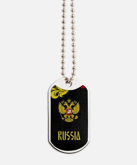 Russia Dog Tags