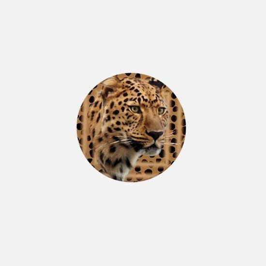 Leopard Spots Mini Button