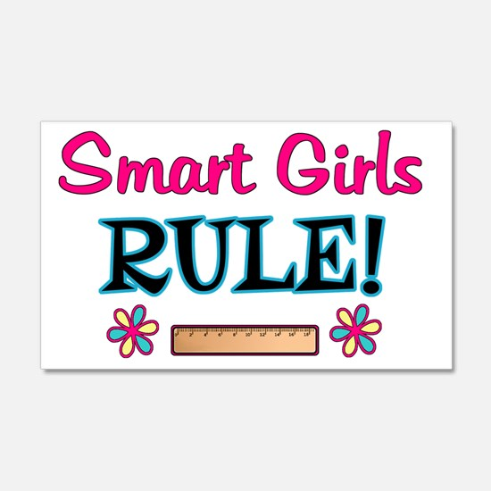 Smart Girls Rule! Wall Decal