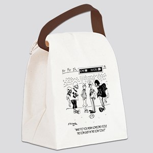 Referees Coin Toss Coin Stolen Canvas Lunch Bag