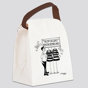 Slightly Defective Referee Shirts Canvas Lunch Bag