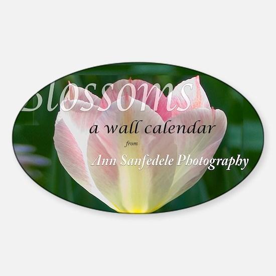 Blossoms Sticker (Oval)