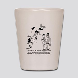 Theory of Relativity @ A Football Game Shot Glass