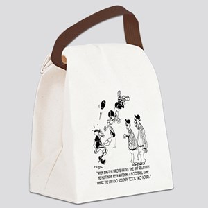 Theory of Relativity @ A Football Canvas Lunch Bag