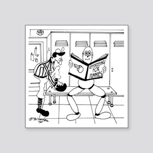"""Refereeing For Dummies Square Sticker 3"""" x 3"""""""