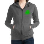 Chumby Green Zip Hoodie