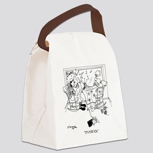 Its For You Canvas Lunch Bag
