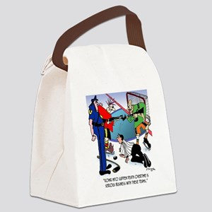 Sudden Death Overtime Canvas Lunch Bag