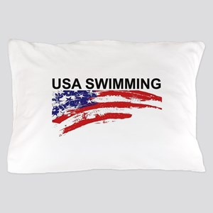 USA Swimming Pocket Pillow Case