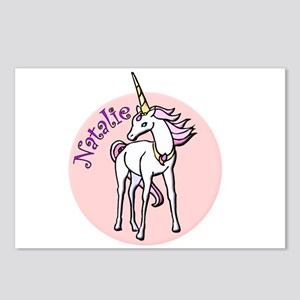 Natalie Unicorn Postcards (Package of 8)