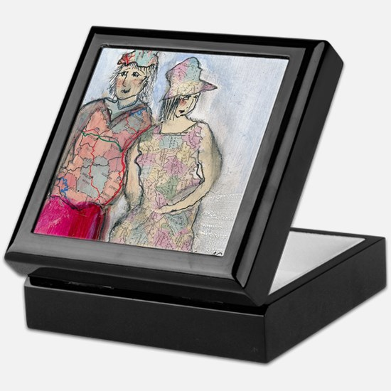Violet  Leigh Keepsake Box