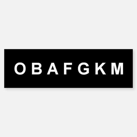 O B A F G K M