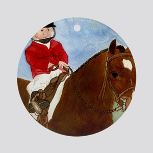 Welsh Pony Leadline Round Ornament