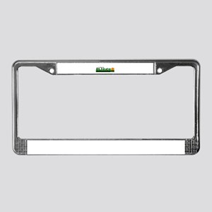 Its Better in Liege, Belgium License Plate Frame