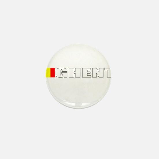 Cute Belgium flag Mini Button