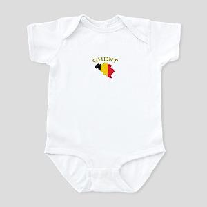 Ghent, Belgium Infant Bodysuit