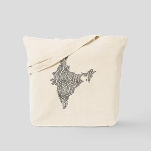 Word India Tote Bag