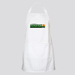 Its Better in Ghent, Belgium BBQ Apron