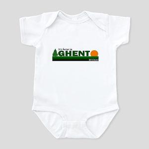 Its Better in Ghent, Belgium Infant Bodysuit