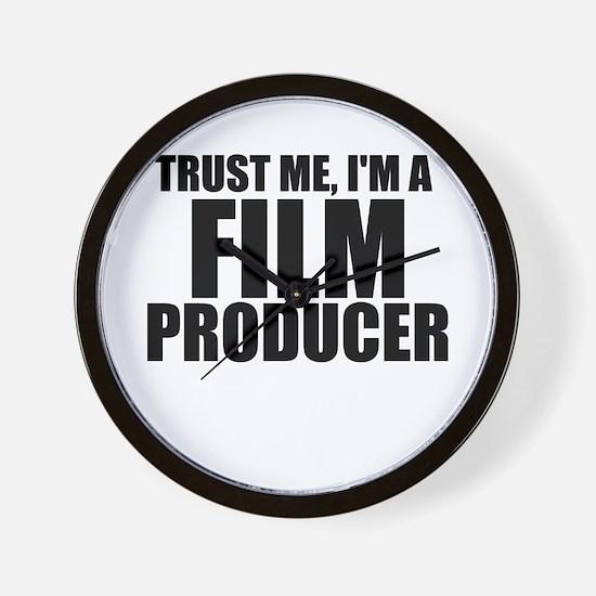 Trust Me, I'm A Film Producer Wall Clock