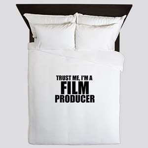 Trust Me, I'm A Film Producer Queen Duvet