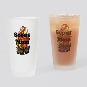 Scout Mom Drinking Glass