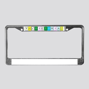 Valedictorian License Plate Frame