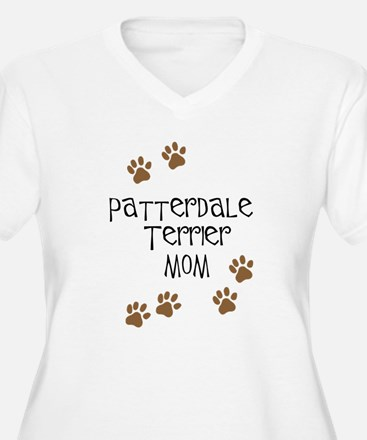 Patterdale Terrier Mom Plus Size T-Shirt